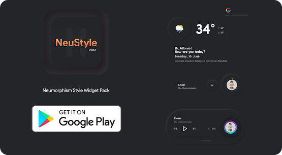 NeuStyle KWGT 1.1 Paid Latest APK Free Download 4
