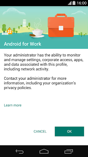Android for Workアプリ