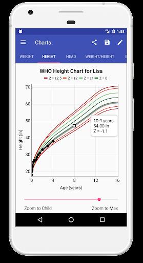 Child Growth Tracker 4.76 Screenshots 4