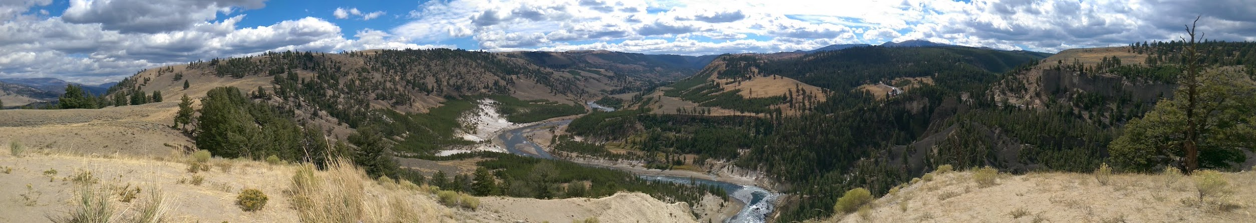 View from the Yellowstone River Hike
