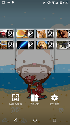Wolf howl sound Widget - screenshot