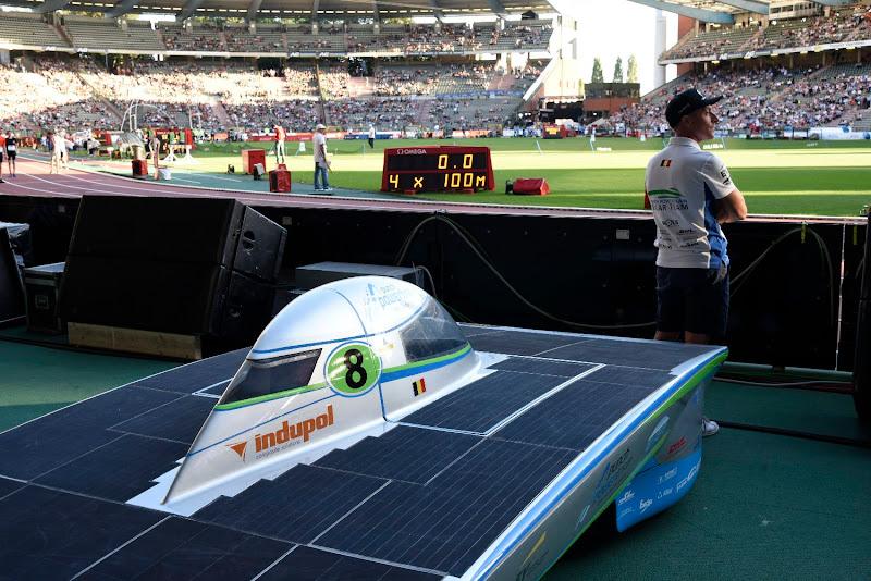 Punch Powertrain Solar Team foto