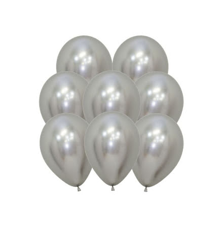 Ballonger, krom silver 10 st