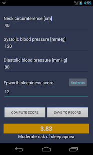 Morpheus: Sleep Apnea Syndrome screenshot