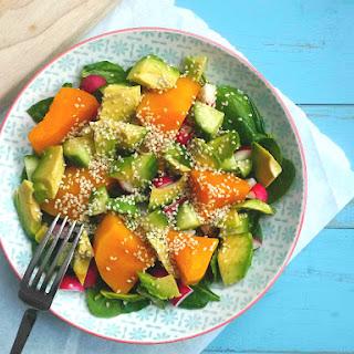 Pumpkin, Avocado and Sesame Salad