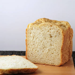 Oat and Yogurt Bread Machine Loaf.