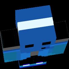 blue gaming slime