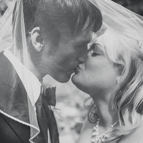 by Kyle Archerd - Wedding Bride & Groom