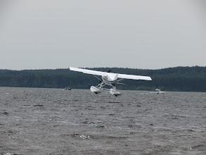 Photo: Maule M7 235B, petit rebond à l'amerrissage