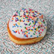 Vanilla Glazed Doughnut