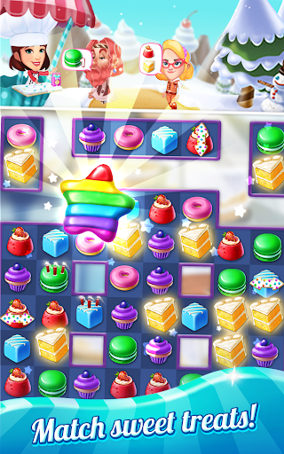 Crazy Cake Swap: Matching Game 1.58 screenshots 7