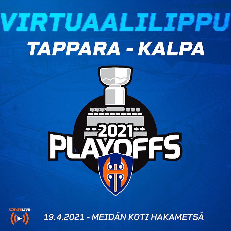 Tappara – KalPa 19.04.2021 virtuaalilippu