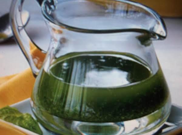 Homemade Basil Oil