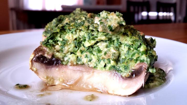 Spinach Alfredo Stuffed Mushrooms Recipe | Yummly