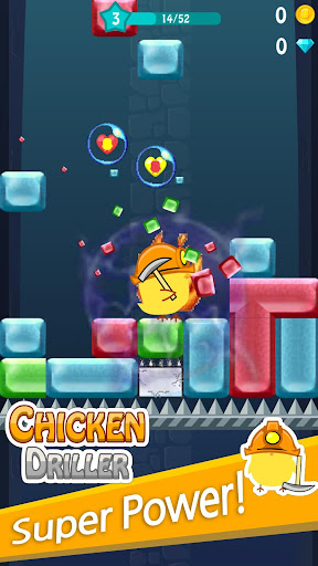 Chicken Driller:Can Your Drill android2mod screenshots 4