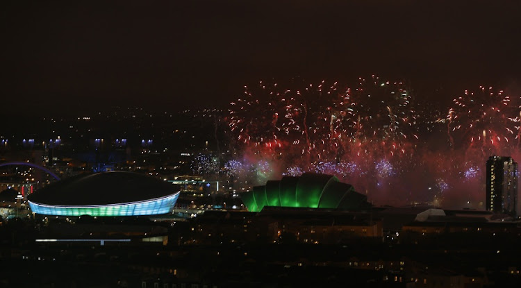 Fireworks light up over the Commonwealth Games venues in Glasgow, Scotland. File Picture: REUTERS/RUSSELL CHEYNE
