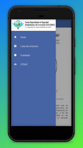 Screenshot for CESAC in United States Play Store
