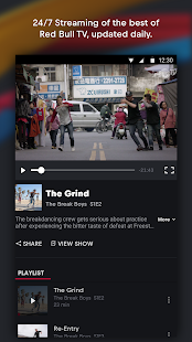 Red Bull TV: Live Sports, Music & Entertainment Screenshot