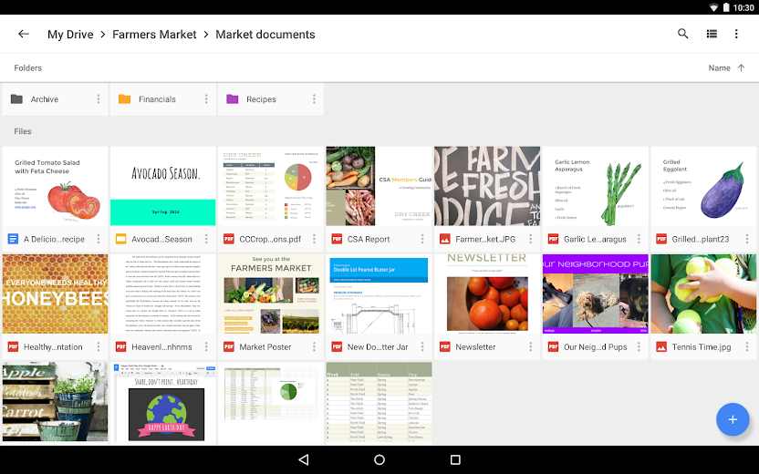 Screenshot 7 for Google Drive's Android app'