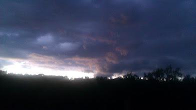 Photo: Creepy clouds