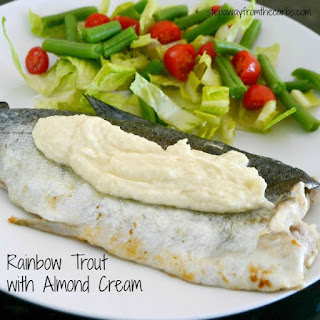 Rainbow Trout with Almond Cream
