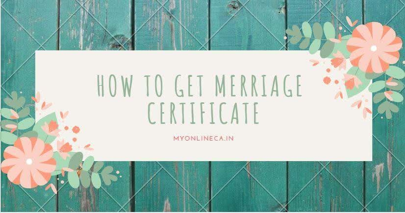 How to get marriage certificate online registration in Rajasthan