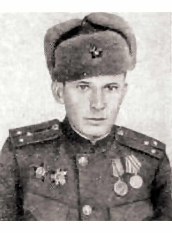 Горовчук А.Ф. - лейтенант 64 осбр