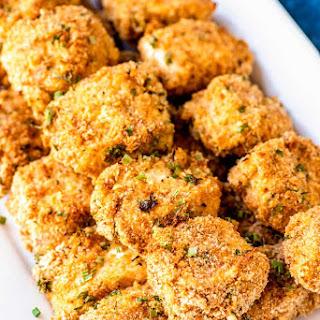 Breaded Dijon Chicken Skewers.