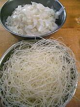 Photo: 2 kinds of rice noodles