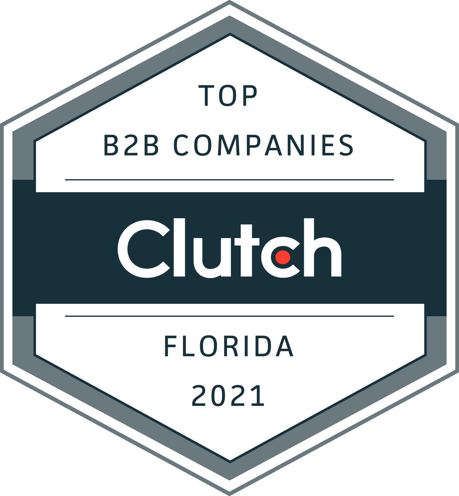 Clutch Award Badge Rizen 2021