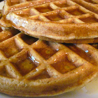 A Healthier Waffle