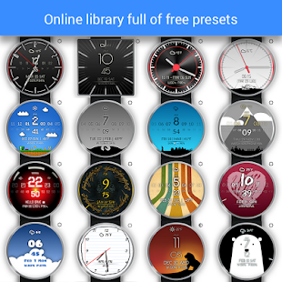 Watch Face - Minimal & Elegant Screenshot