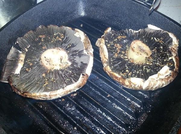 While grill is heating up,  mix together, EVOO, balsamic vinegar, garlic, Italian seasoning,...