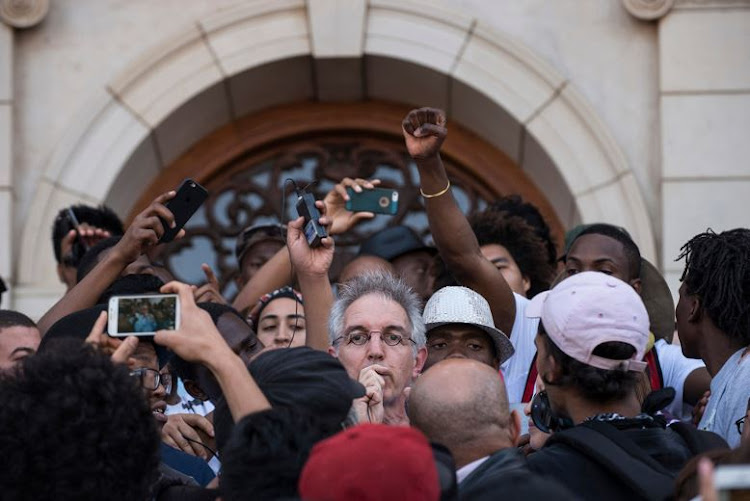 UCT Vice-Chancellor Max Price pled to avoid disruptions at all costs.