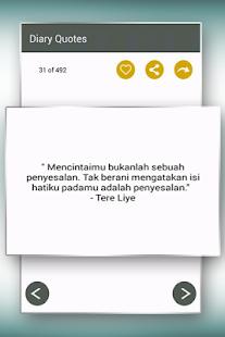 Diary Motivasi Dan Kata Cinta Apps Bei Google Play