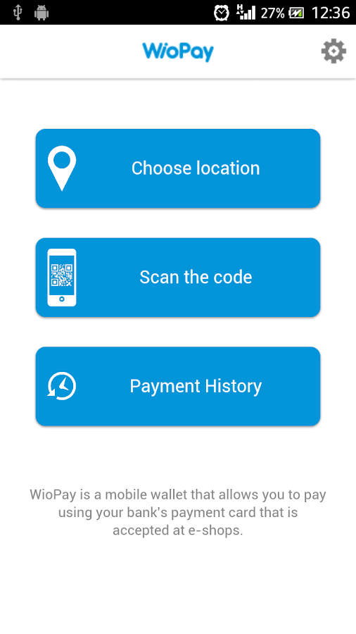 WioPay - mobile wallet- screenshot