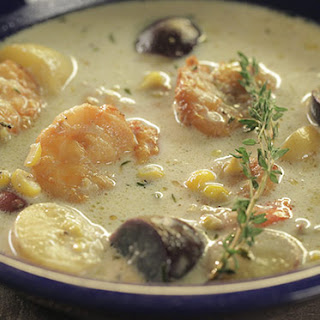 Smoked Shrimp and Corn Chowder