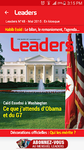 Leaders Mobile- screenshot thumbnail