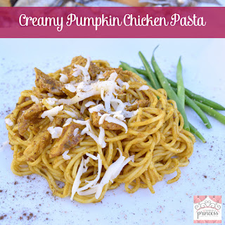 Chicken for Creamy Pumpkin Chicken Pasta