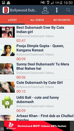 Bollywood Dubsmash Videos