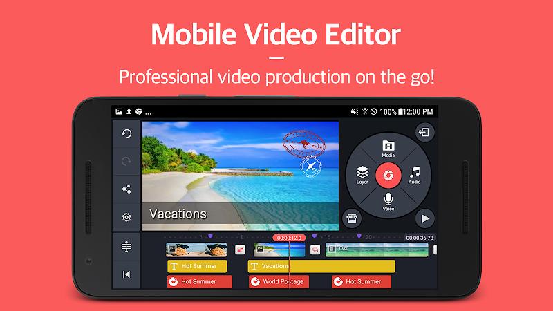 KineMaster \342\200\223 Pro Video Editor Screenshot