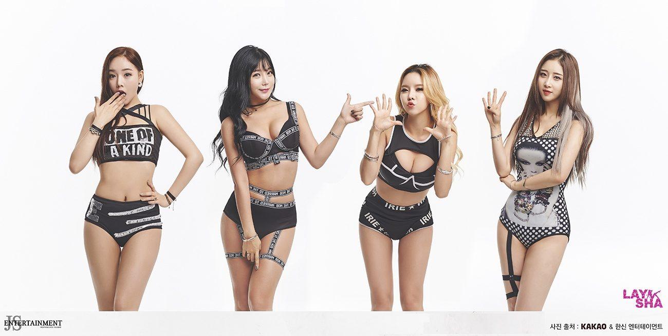 image Kpop laysha hyeri sexy dance compilation