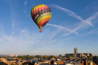 Photo: September 22nd with hot-air balloon  (Clive Haynes)