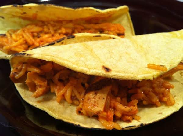 Chicken And Rice Tacos