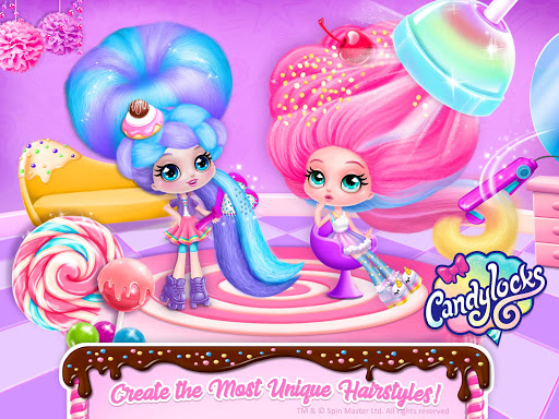 Candylocks Hair Salon - Style Cotton Candy Hair  Wallpaper 19