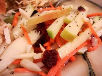 Apple Slaw Salad