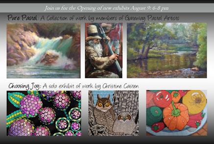 Gateway Pastel Artists and Casten Solo Exhibit