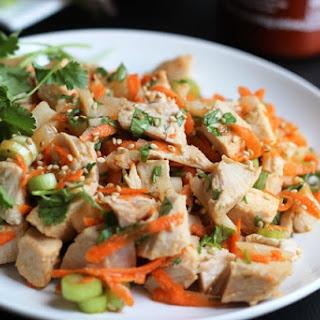 Ginger-Sesame Turkey Salad