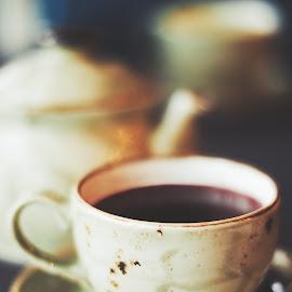 Fruit tea by Nadezda Tarasova - Food & Drink Alcohol & Drinks ( pause, cup, aroma, cafe, nice )