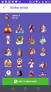 WAStickers-  Figurinhas de Jesus Screenshot